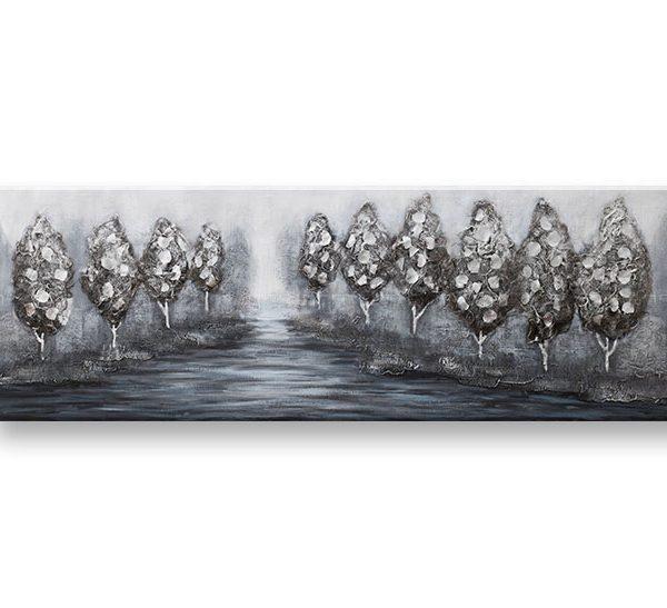 Maľovaný obraz na stenu STROMY 1 dielny CWFTR029 – 150x50 cm