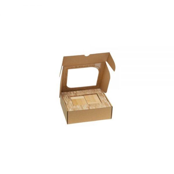 Drevená stavebnica domino - 200 ks
