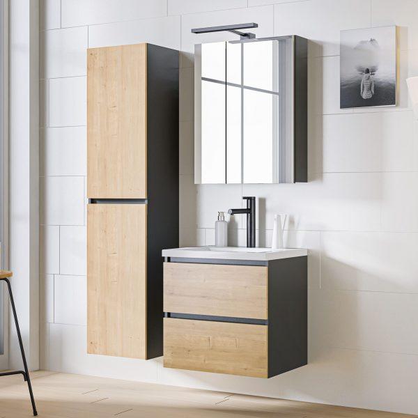 ArtCom Kúpeľňový komplet MONAKO Grey Oak 60
